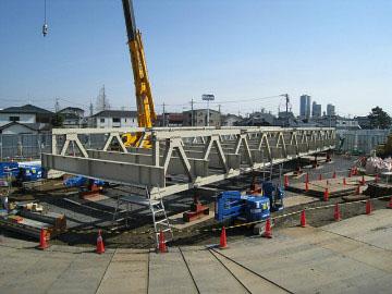 東京外環自動車道市川中工事