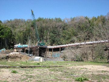 さがみ縦貫串川橋下部工事